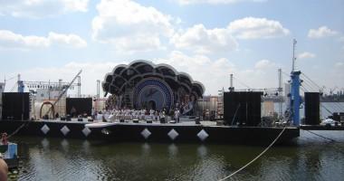 Festivalul Callatis pluteşte  iar în Portul Turistic Mangalia