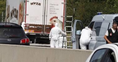 Noi detalii despre refugiații găsiți morți într-un camion în Austria