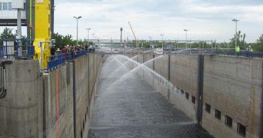 Canalul Dunăre – Marea Neagră a fost sărbătorit la împlinirea a 35 de ani de la intrarea în exploatare