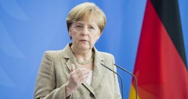Cancelarul Merkel promite  să lupte împotriva terorismului alături de Marea Britanie