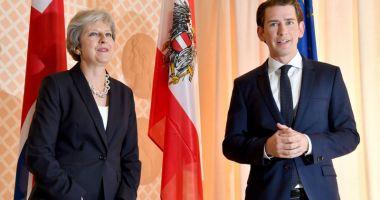 Cancelarul Austriei salută victoria premierului britanic în urma votului de neîncredere
