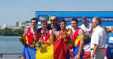 Canotaj: România a cucerit trei medalii la Mondialele de la Rio