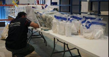 Cantitate-record de droguri, de 2.700 de kilograme, confiscată de autorităţile spaniole