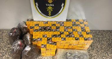 Captură de țigări în Vama Sighet