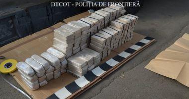 Captură RECORD a DIICOT - Peste 84 de kilograme de heroina au fost introduse în România