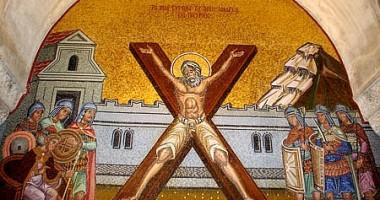 Capul Sfântului Apostol Andrei, pentru a doua oară în România