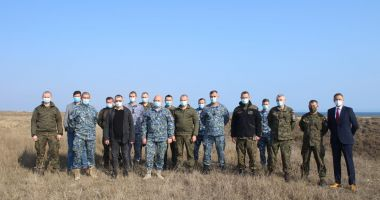 Militarii polonezi, în vizită la Capu Midia să se documenteze despre sistemul de lansare rachete