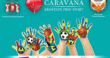 """Proiectul """"Caravana - Sănătate prin Sport"""", la final"""