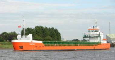 Cargoul Calypso a eşuat pe stânci
