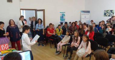 Carte realizată de copii şi premiată la un concurs