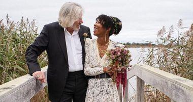 Roger Wasters s-a căsătorit pentru a cincea oară la vârsta de 78 de ani