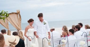 Vrei nuntă pe plajă sau în parc? Iată cât te costă ceremonia