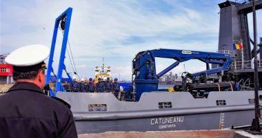 """Nava Maritimă Hidrografică """"Alexandru CĂTUNEANU"""", ESCALĂ ÎN INSULA CRETA"""