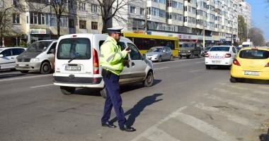 Căutat de poliţişti după ce a lovit o minoră pe trecerea de pietoni