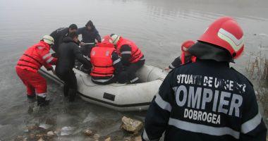 Bărbat mort după ce a căzut în lacul Siutghiol