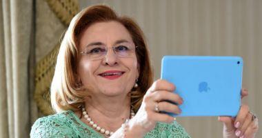 """Maria Grapini, o nouă gafă: """"Acum câteva ore am dat viață băiatului meu!"""""""