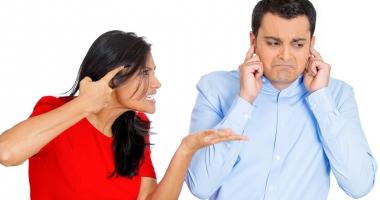 Cea mai tare ceartă dintre soţ şi soţie