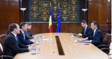 Ce a discutat premierul cu şeful Fondului Proprietatea