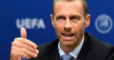 Aleksander Ceferin, un nou mandat la preşedinţia UEFA