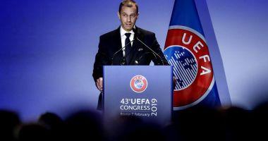 Aleksander Ceferin, reales preşedinte al UEFA
