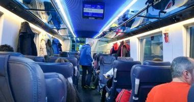 Transportul feroviar de pasageri a înregistrat cea mai mică scădere din UE  în 2020