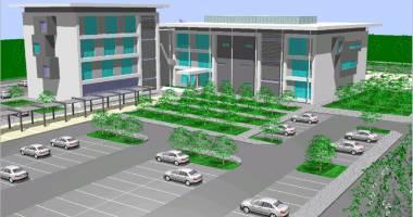 Centrul de Afaceri din Năvodari, finalizat până în vară
