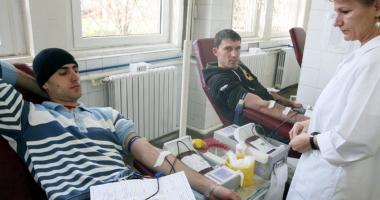 Donarea de sânge salvează vieţi omeneşti