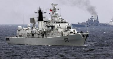 Nave militare chineze au intrat în apele teritoriale ale Japoniei