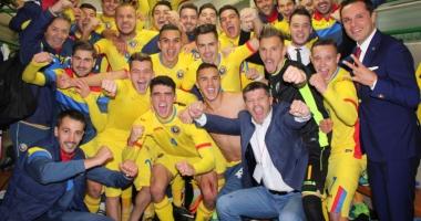 Cicâldău, gol pentru România în victoria din Elveţia