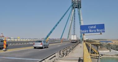 Circulaţia  pe Podul Agigea  se închide total,  de la 1 septembrie
