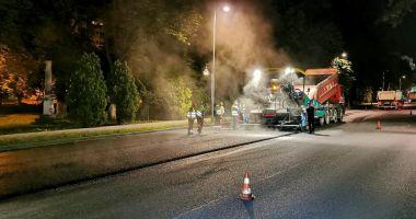 Circulație restricționată, la noapte, pe bulevardul Tomis