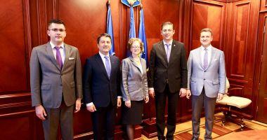 Ambasadorul Austriei în România, vizită la CJC