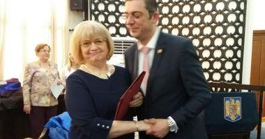 Aurelia Lăpuşan şi Doina Păuleanu, cetăţeni de onoare ai judeţului Constanţa