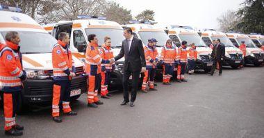 A venit Moș Crăciun la Serviciul de Ambulanță Județean! Cum a înnoit parcul auto