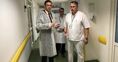 """Corpul de Control al CJC, inspecție la Spitalul Județean Constanța """"Nu voi tolera abuzurile !"""""""