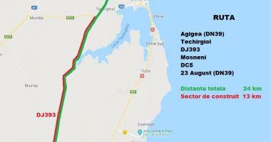 Gata cu ambuteiajele pe DN 39! CJC vrea să reabiliteze două rute noi spre sudul litoralului