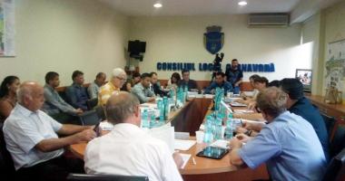 Proiectele prioritare  ale oraşului Cernavodă,  în atenţia consilierilor
