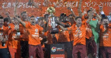 Fotbal / CFR Cluj a câştigat titlul de campioană a României pentru a patra oară