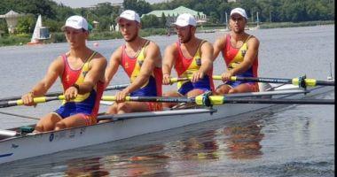 Aur pentru România! Echipajul masculin de patru rame, cea mai strălucitoare medalie la CM de canotaj