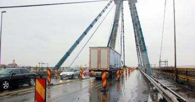 CNADNR men�ine restric�iile de trafic  pe podul Agigea