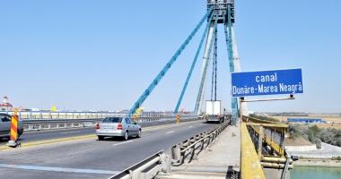Traficul pe podul Agigea, închis până la începutul iernii!