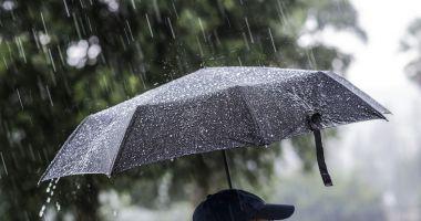 O nouă avertizare meteo de ploi şi grindină! Iată harta zonelor afectate
