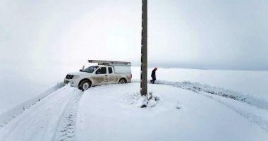 COD PORTOCALIU de VISCOL, în județul Constanța. Mai multe localități din județ au rămas fără apă rece