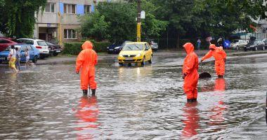 COD GALBEN de furtuni, la Constanţa. RAJA a activat Comandamentul pentru Situații de Urgență
