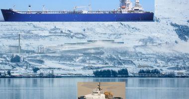 Coliziune navală într-un terminal petrolier din Alaska