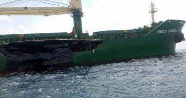Coliziune navală urmată de poluare