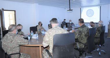Comandanţi din armatele SUA şi Marea Britanie, în vizită de lucru, în Poligonul Capu Midia