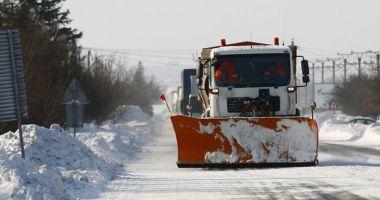 Compania naţională de drumuri se pregătește pentru iarnă!