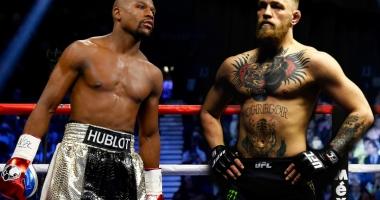Box / Avantaj la cântar pentru McGregor înaintea meciului cu Mayweather