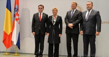 Președintele Croației dezbate la CCIR consolidarea relațiilor economice bilaterale